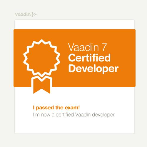 Ich bin zertifiziert